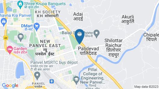 Hotel Mahalaxmi Map