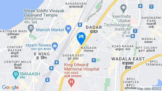 Room Maangta 118 -Tata Memorial Hospital Map