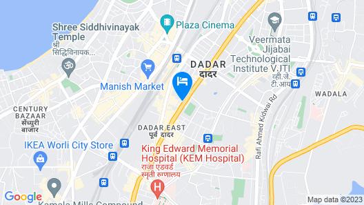 Hotel Aroma Map