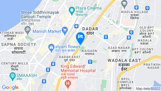 Hotel Sai Suites Dadar Map