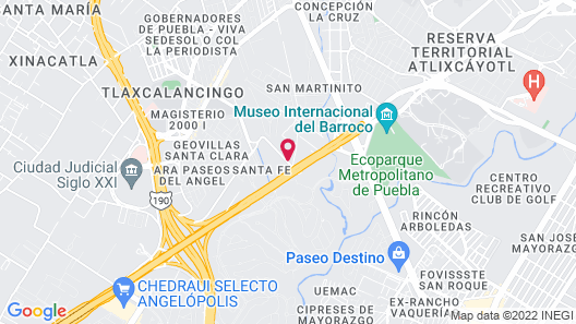 Holiday Inn Express Hotel & Suites Puebla Angelopolis, an IHG Hotel Map