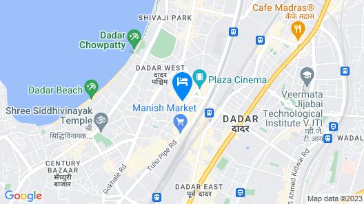 Hotel Manhar Residency Map