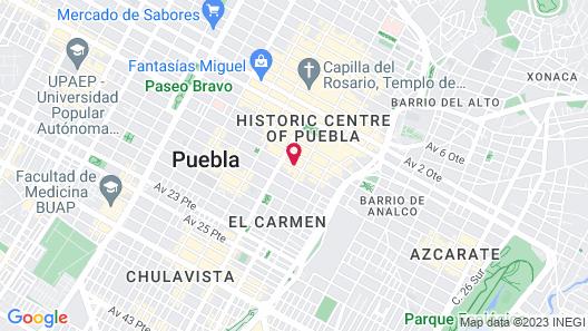 El Sueño Hotel & Spa Map