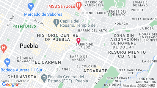 Hotel Boutique Casareyna Map