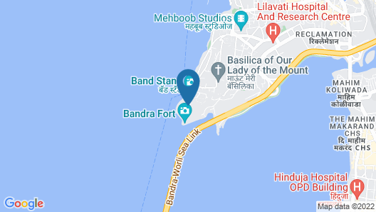 Taj Lands End Map