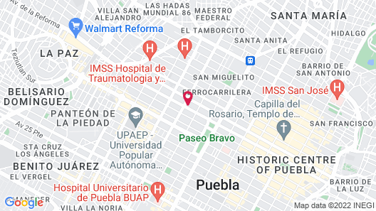 Hostel & Mezcal Map