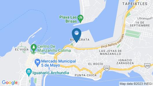 Zar Manzanillo Map