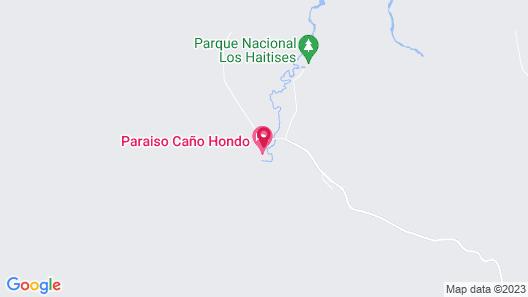 Altos de Caño Hondo Map
