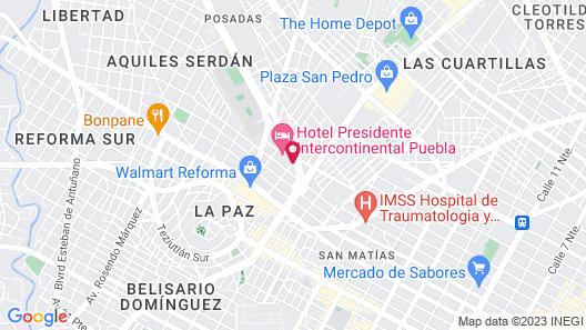 Holiday Inn Express Puebla, an IHG Hotel Map