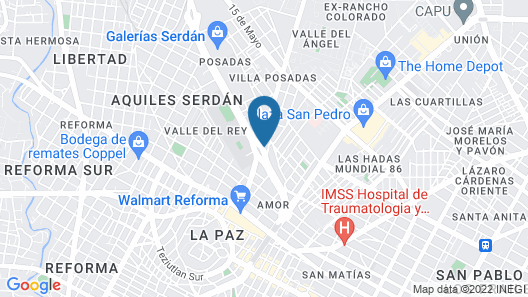 Four Points By Sheraton Puebla Map