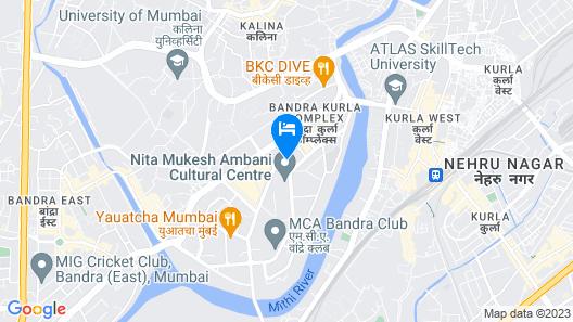 Trident Bandra Kurla Mumbai Map