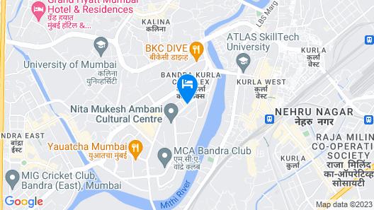Sofitel Mumbai BKC Hotel Map
