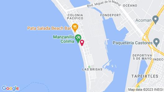 Best Western Plus Luna del Mar Map
