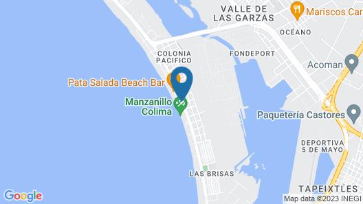 Hotel Star Manzanillo Map