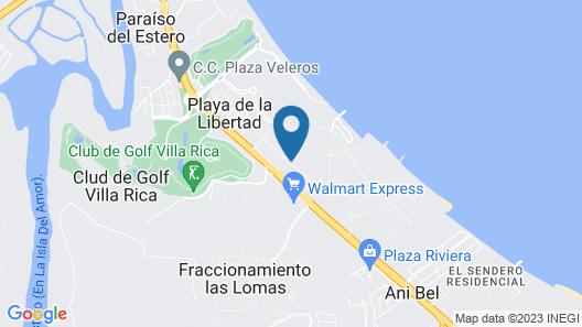 Suites el Conchal Map