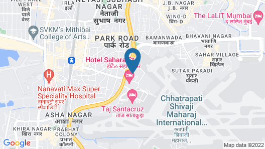 The Orchid- Ecotel Mumbai Airport Map