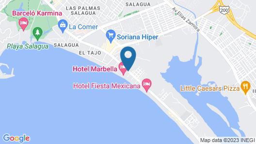 Hotel Marbella Map