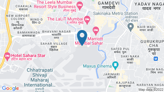 Niranta Airport Transit Hotel & Lounge Terminal 2 Arrivals Map