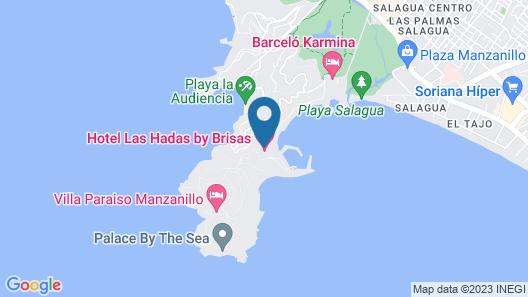 Las Hadas By Brisas Map