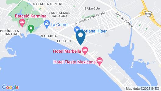 City Express Manzanillo Map