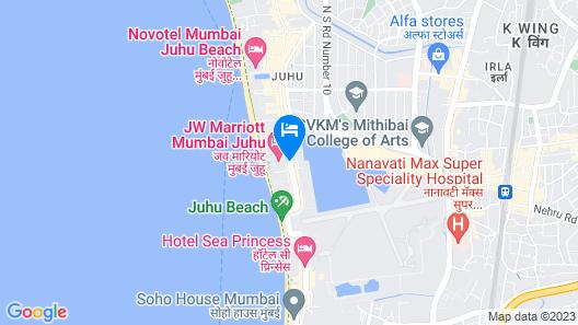 JW Marriott Mumbai Juhu Map