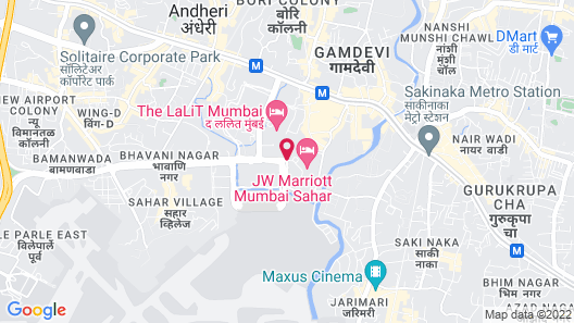 JW Marriott Mumbai Sahar Map