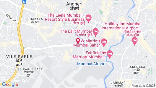 Hyatt Regency Mumbai Map