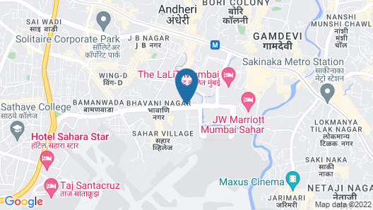 Hyatt Regency Mumbai Map