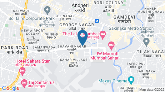 ITC Maratha Mumbai, a Luxury Collection Hotel, Mumbai Map
