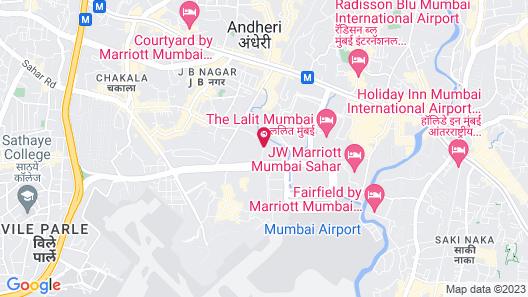 Hilton Mumbai International Airport Map