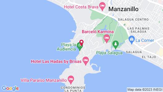 Tesoro Manzanillo All Inclusive Map