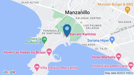 Barceló Karmina All Inclusive Map