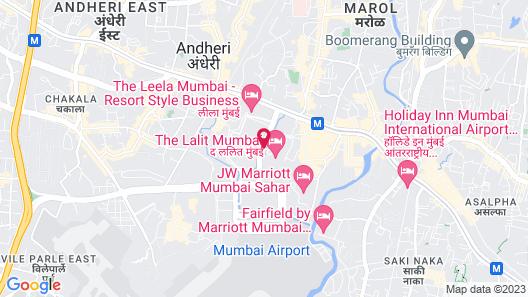 The LaLiT Mumbai Map