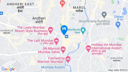 Metro Dormitory Map
