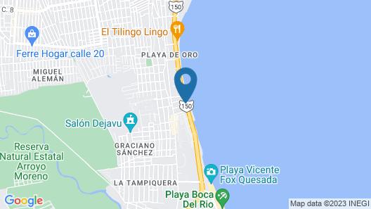 B&B Boca del Rio Map