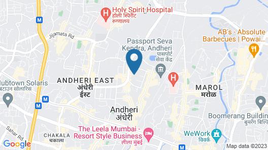 Aflon Hotel Map