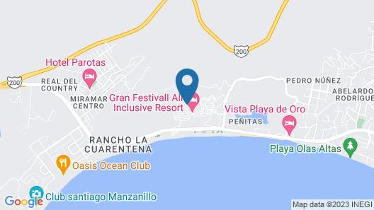 Palette Gran Festivall Resort Map
