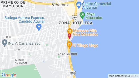 Hotel Playa Caracol Map