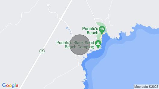 Ka'u Condo Aloha Kama?ina! Ocean View Pool, Hot Tub Walk to Punaluu Beach Map