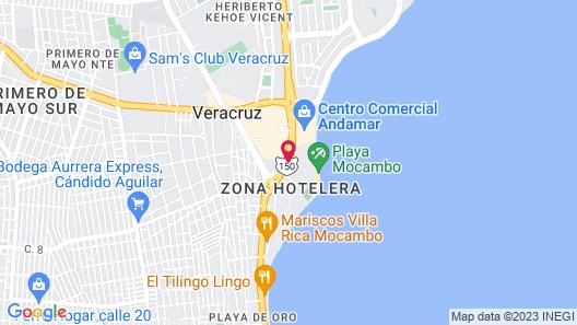 AC Hotel by Marriott Veracruz Map