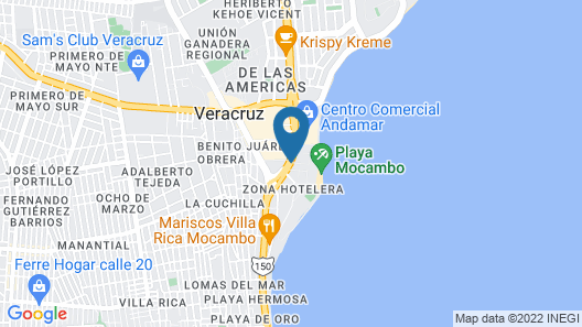 AC Hotel by Marriott Veracruz Map