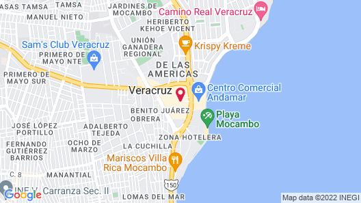 Galería Plaza Veracruz by Brisas Map