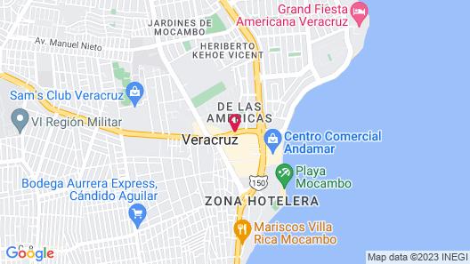 Ramada Plaza by Wyndham Veracruz Boca del Rio Map
