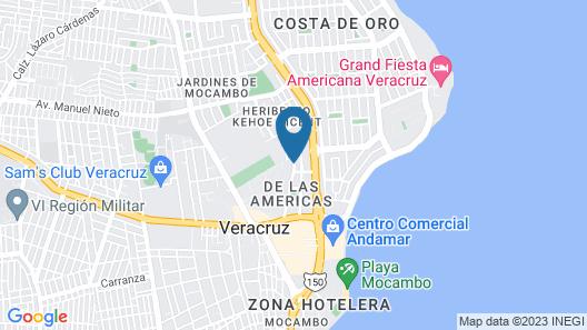 Gamma Veracruz Boca del Río Oliba Map