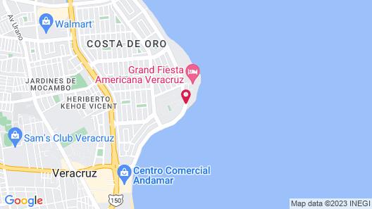 Camino Real Veracruz Map