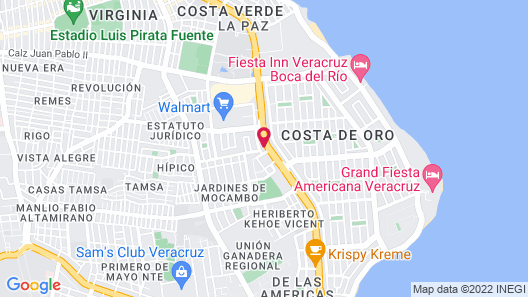 Four Points by Sheraton Veracruz Map