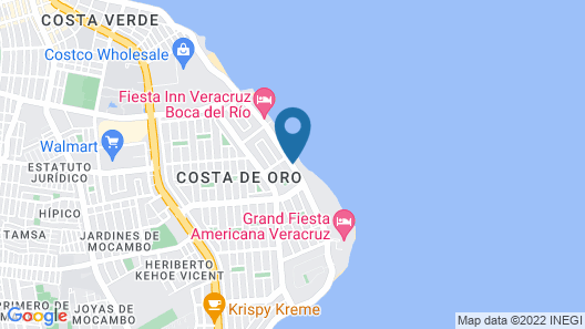 Astur Hotel y Suites Map
