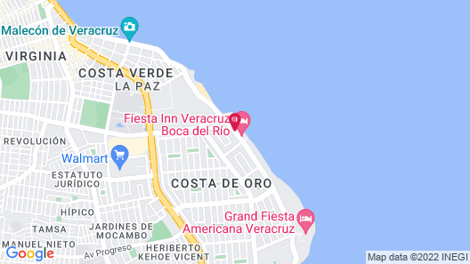 City Express Veracruz Map