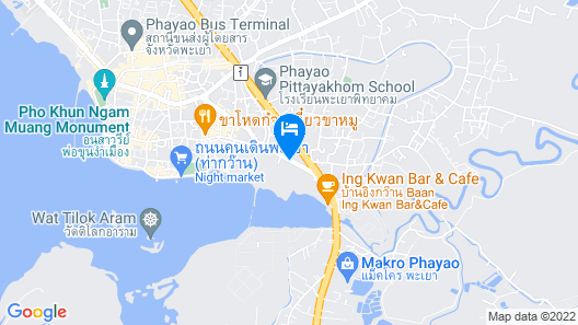 Green Hill Hotel Phayao Map