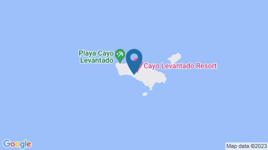 Bahia Principe Luxury Cayo Levantado - All Inclusive Map